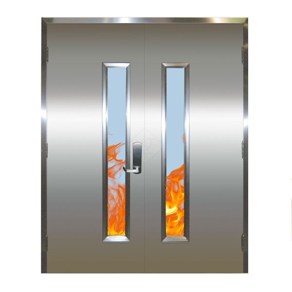 Fire Protection Steel Doors DVT